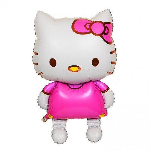"Folinis balionas ""Hello kitty- katyte"" (80*48cm)"